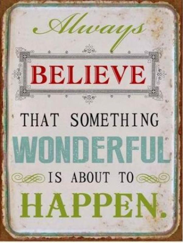 Sinal Always Believe